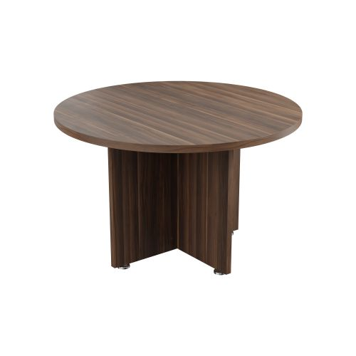 Regent Round Meeting Dark Walnut