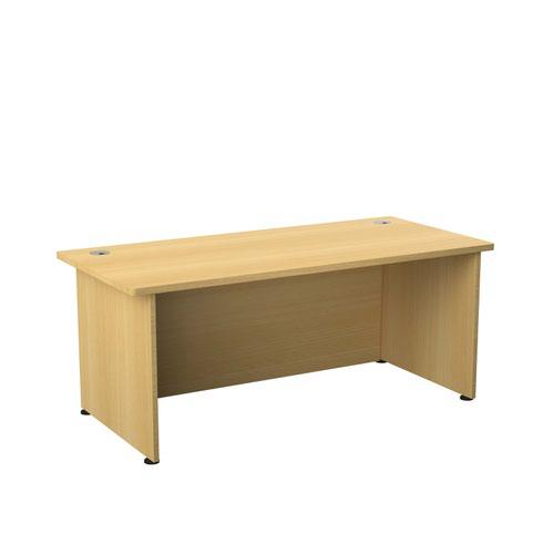 Regent 1800 Rectangular Exec Desk Nova Oak