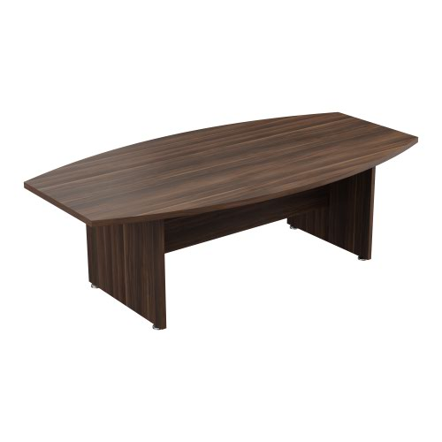 Regent 2400 X 1250 Meeting Table Dark Walnut
