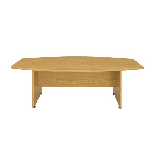 Regent 2400 X 1250 Meeting Table Nova Oak