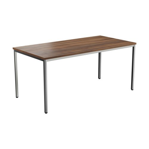Summit Rectangular Table Dark Walnut