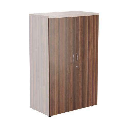 1600 Wooden Cupboard Doors - Dark Walnut
