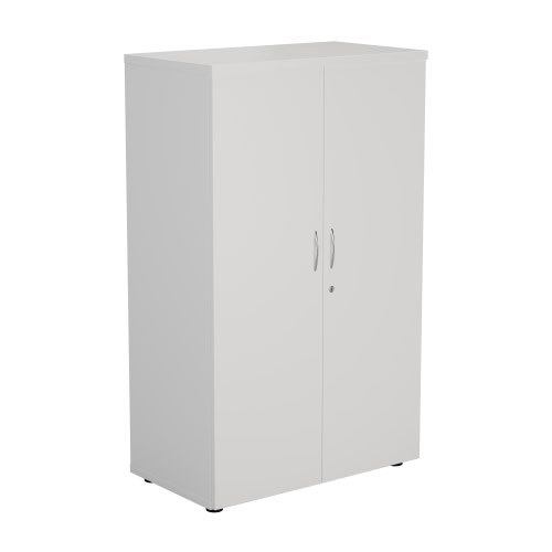 1600 Wooden Cupboard (450mm Deep) White