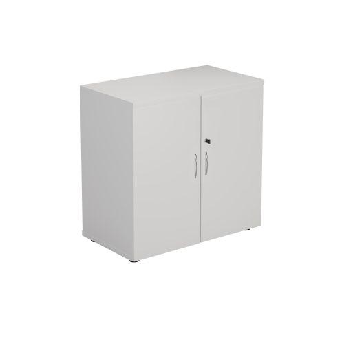 800 Wooden Cupboard (450mm Deep) White