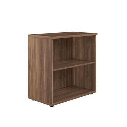 800 Wooden Bookcase (450mm Deep) Dark Walnut