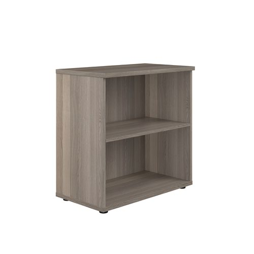 800 Wooden Bookcase (450mm Deep) Grey Oak