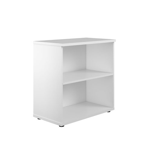 800 Wooden Bookcase (450mm Deep) White
