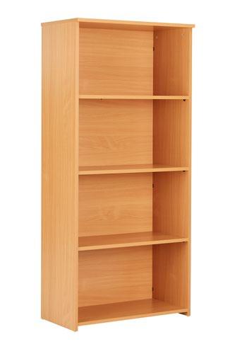 Eco 18 Premium 1600 Bookcase Beech