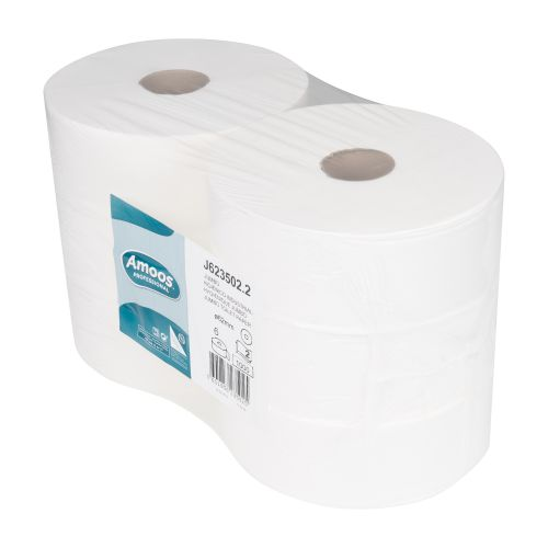 Navigator Amoos Jumbo Toilet Roll 350mm X 300M 62mm Core Case 6