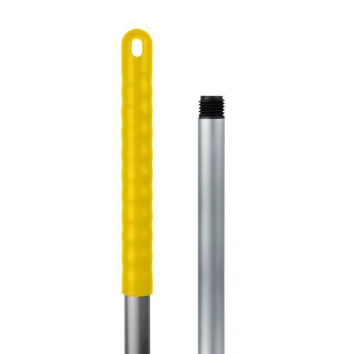 Tecman Aluminium Socket Mop Handle Yellow Single Handle