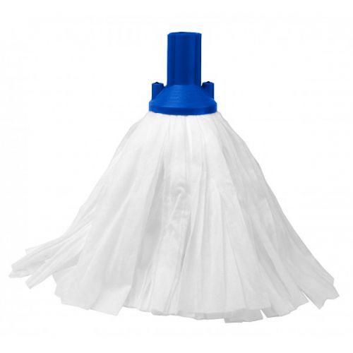 Big White Socket Mop Blue Case Of 10