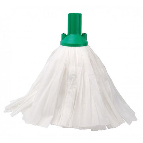 Big White Socket Mop Green Case Of 10