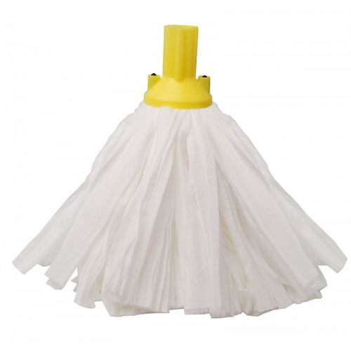 Big White Socket Mop Yellow Case Of 10