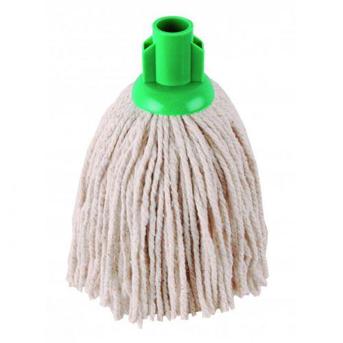 No.12 Py Plastic Socket Mop Green Case Of 10