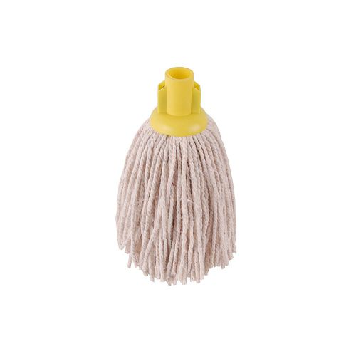 No.12 Py Plastic Socket Mop Yellow Case Of 10