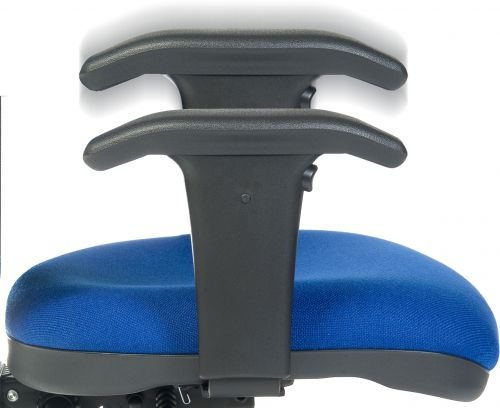 Teknik Office Arms Delta Height Adjustable
