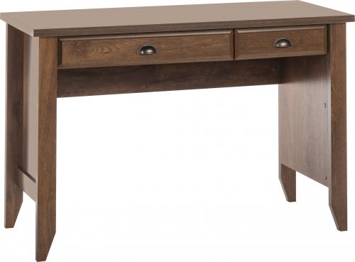office study desk. Teknik Office Oiled Oak Effect Laptop Home Study Desk With Stationery And Keyboard Drawer