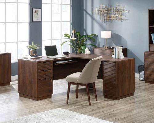 Teknik 5426914 Elstree L-Shaped Desk