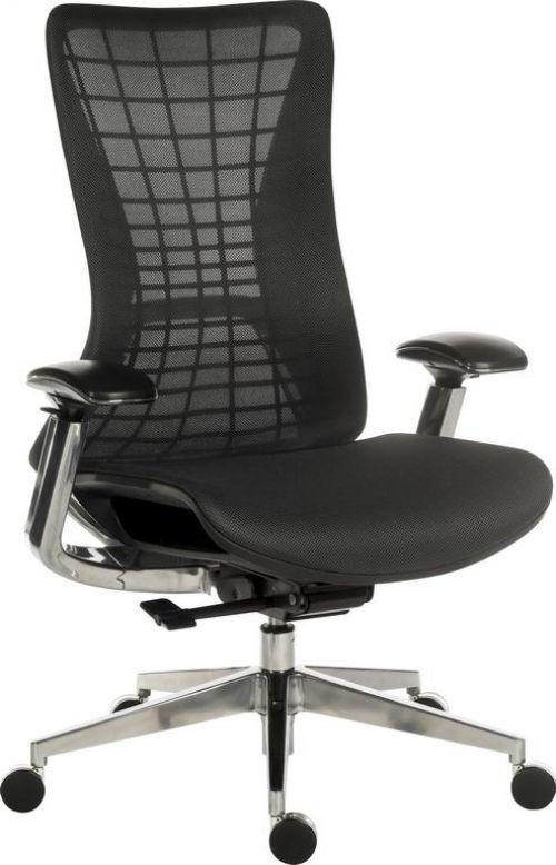 Teknik Quantum Mesh Chair Black
