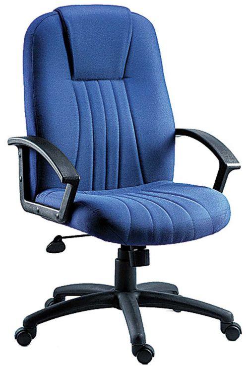Teknik 8099FBL City Blue Fabric Executive Chair