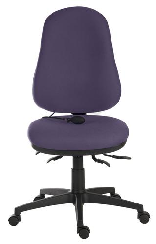 Teknik Office Ergo Comfort Air Spectrum Fabric in Penstemon with high back executive operator chair