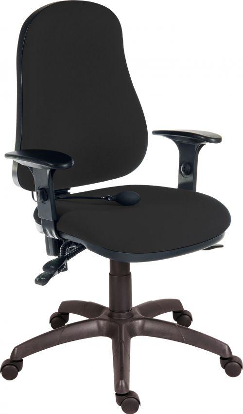Teknik 9500AIRBLACK Ergo Comfort Air Chair