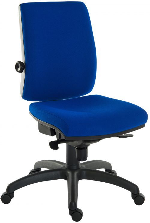 Teknik 9600BL R510 ErgoPlusBlue Chair and blk base