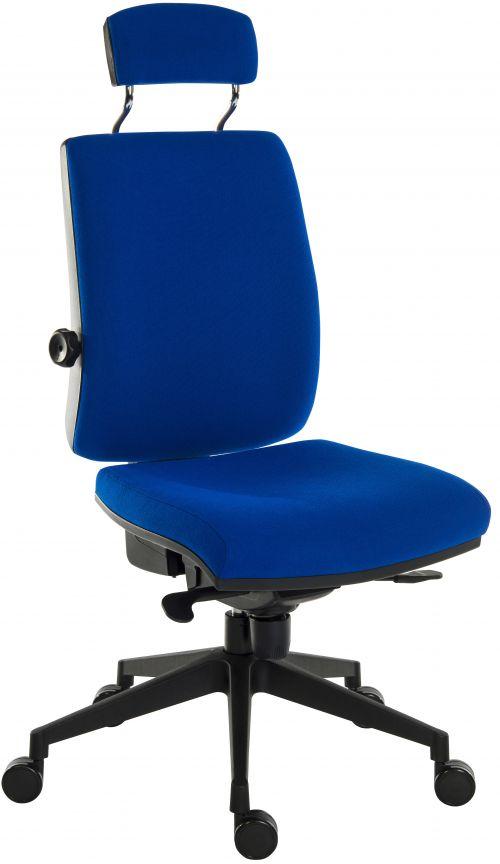 Teknik 9700BL R520 ErgoPlusHRBl Chair and ultra base