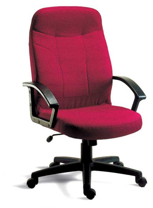 Teknik B8801BU Mayfair Burg Fabric Exec Chair