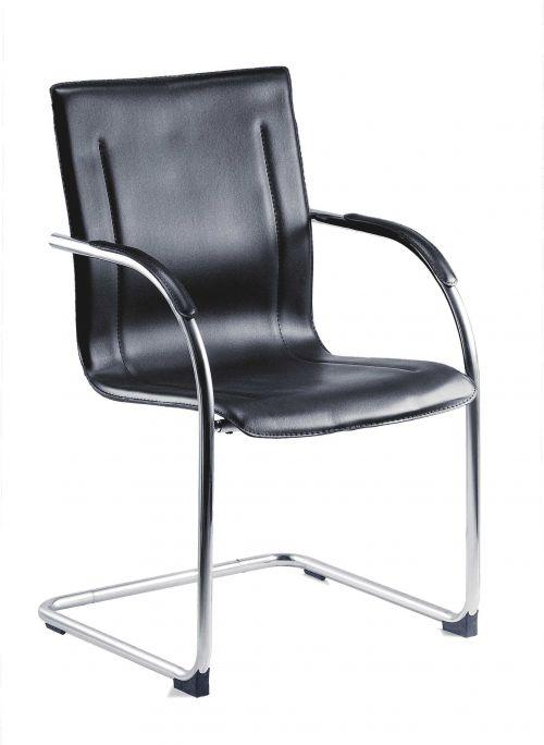 Teknik B9530 Guest Black Cantilever Chair