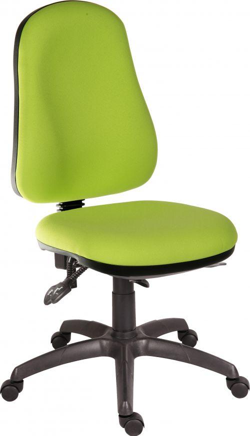 Teknik Office Ergo Comfort Spectrum Fabric high back executive operator chair Madura