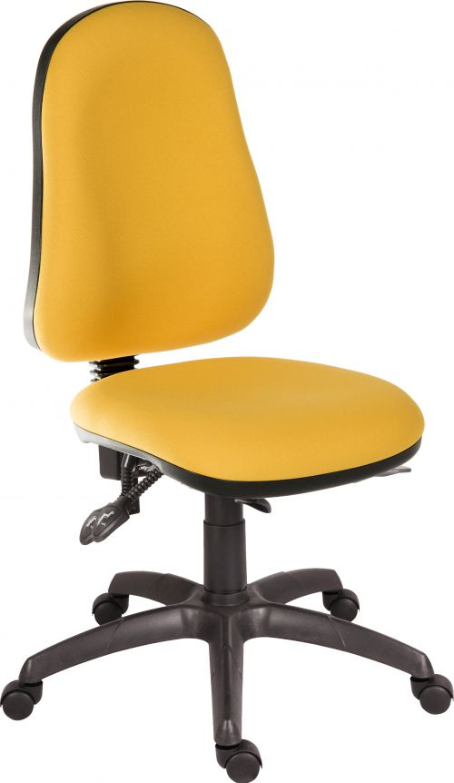 Teknik Office Ergo Comfort Spectrum Fabric high back executive operator chair Solano
