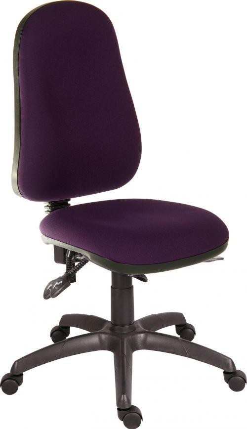 Teknik Office Ergo Comfort Spectrum Fabric high back executive operator chair Tarot