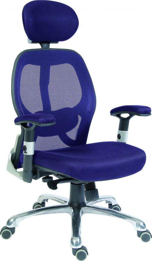 Teknik OA1013BLU Cobham Blue Mesh Chair
