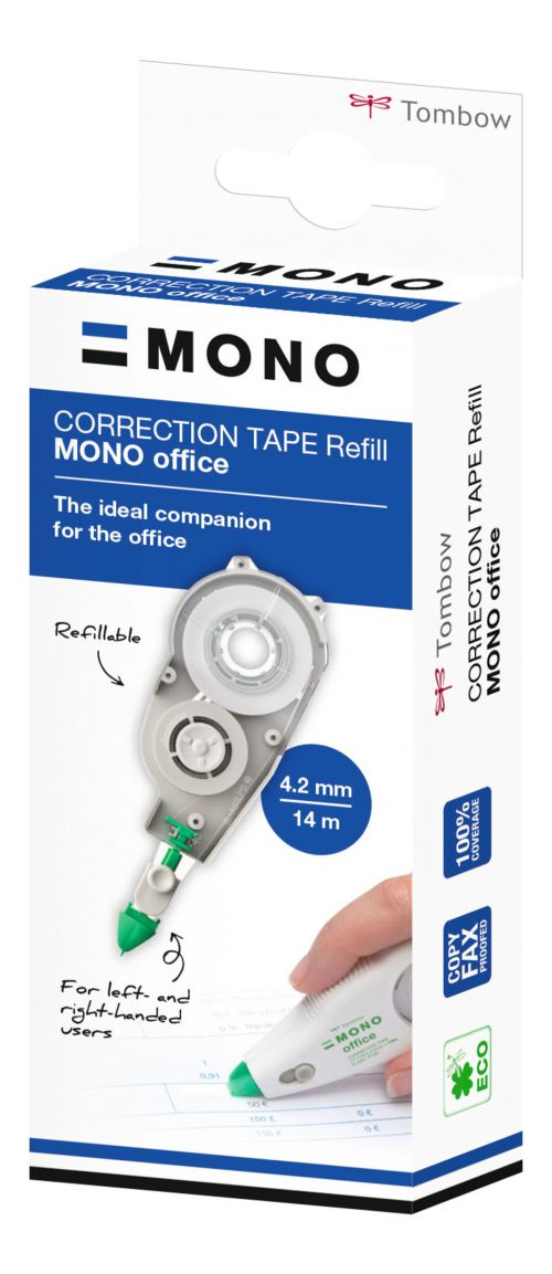 Tombow MONO Office Correction Tape Refill 4.2mm x 14m CT-CRE4 TB40585