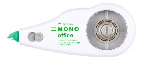 Tombow MONO Office Correction Tape Refillable 4.2mm x 14m CT-CXE4 TB40582