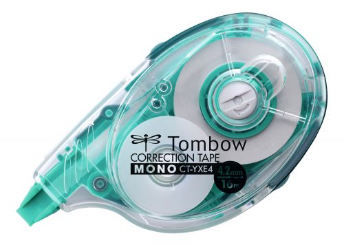 Tombow Refillable Correction Tape Easy-Write Extra Long 4.2mm x 16m CT-YXE4