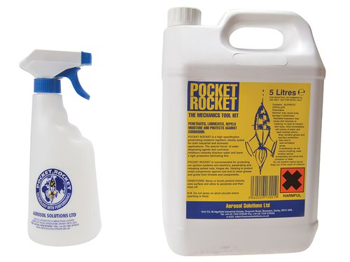 Pocket Rocket Lubricant Repellent 5 litre