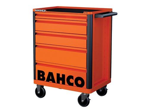5 Drawer B Tool Trolley K Orange