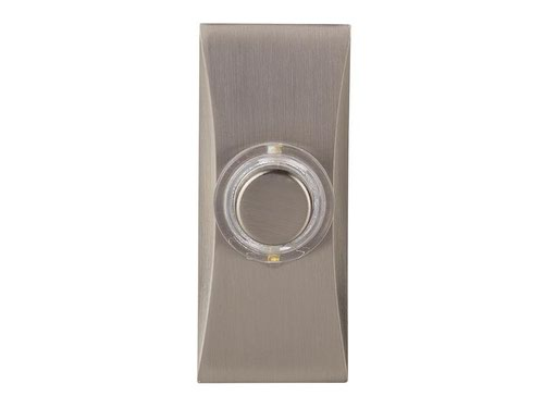 7960C Wired Doorbell Additional Chime Bell Push Chrome