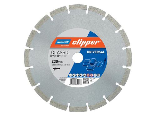 Classic Universal Blue Diamond Blade 230 x 22.23mm