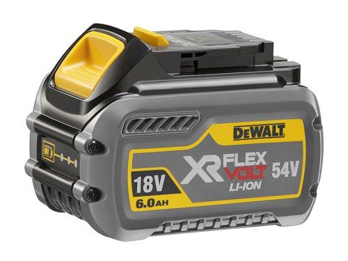 DCB546 XR FlexVolt Slide Battery 18/54V 6.0/2.0Ah Li-ion