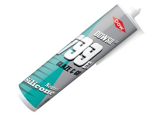 799 Glaze & Go Silicone Sealant  White 310ml