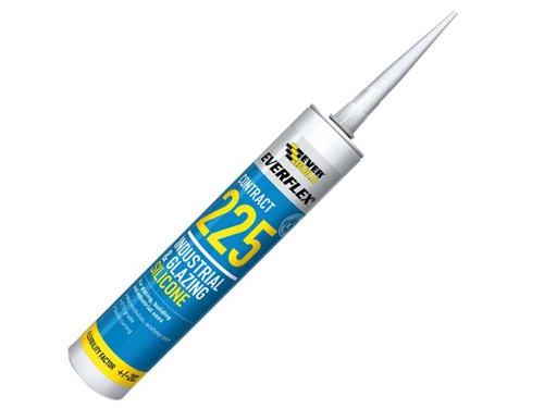 Everflex® 225 Industrial & Glazing Silicone White 295ml
