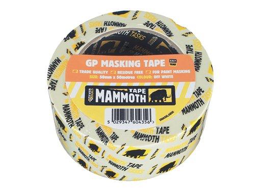 Mammoth Retail Masking Tape 19mm x 50m