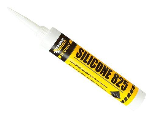 825 Tecnic Silicone 380ml White