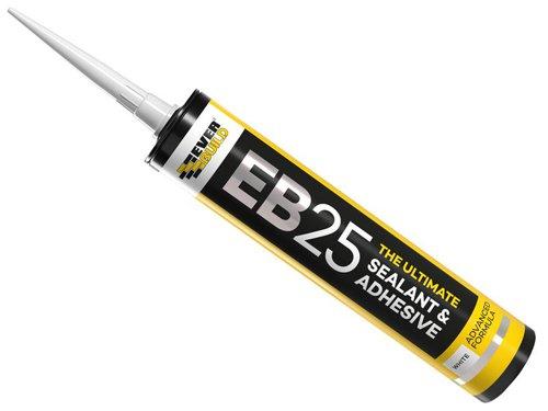EB25 Hybrid Sealant Adhesive White 300ml