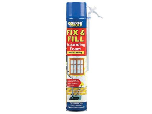 Fix & Fill Expanding Foam Filler 750ml