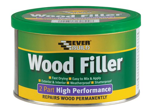 2-Part High-Performance Wood Filler Light Stainable 1.4kg