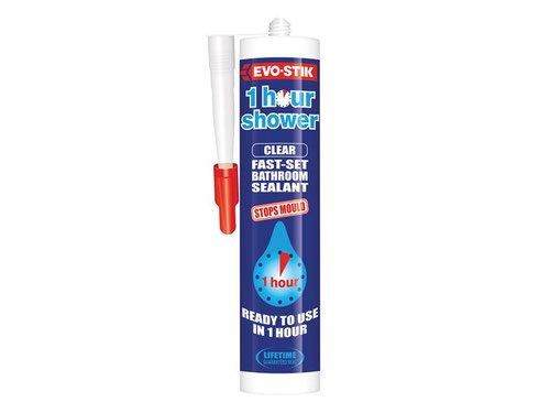 1 Hour Shower Sealant Clear 310ml